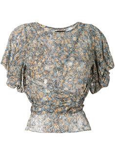 блузка с запахом  Isabel Marant