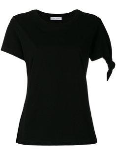 футболка с узлом спереди JW Anderson