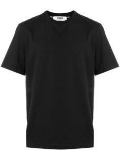 футболка с короткими рукавами MSGM
