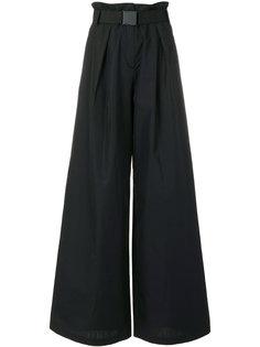 широкие брюки с поясом Nº21