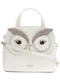 маленькая сумка-тоут в виде совы Kate Spade