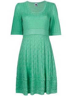 платье с геометрическим узором M Missoni