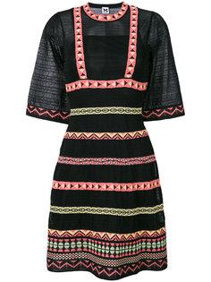 платье с полосатым принтом M Missoni