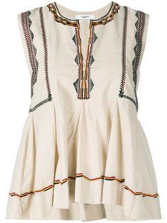 блузка с вышивкой Isabel Marant Étoile