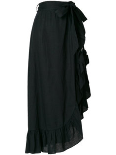 длинная юбка с оборками Isabel Marant Étoile