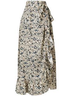 длинная юбка с запахом Isabel Marant Étoile