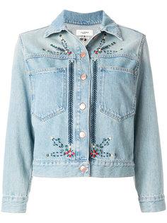 джинсовая куртка с вышивкой Isabel Marant Étoile