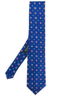 галстук с вышитым узором  Etro