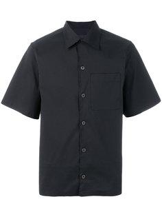 классическая рубашка с короткими рукавами Prada