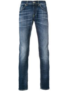выбеленные джинсы Dondup