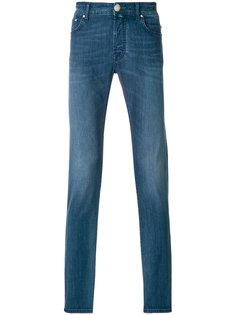 прямые джинсы с выцветшим эффектом Jacob Cohen