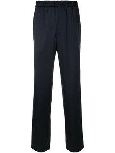 брюки с эластичным поясом Maison Flaneur