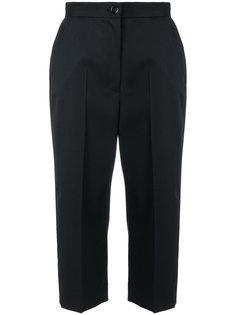 укороченные брюки с высокой талией Mm6 Maison Margiela
