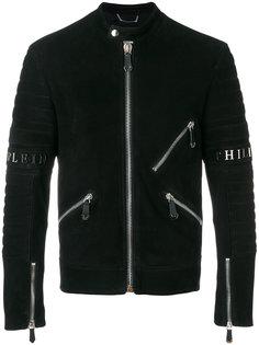 байкерская куртка Xavier Philipp Plein