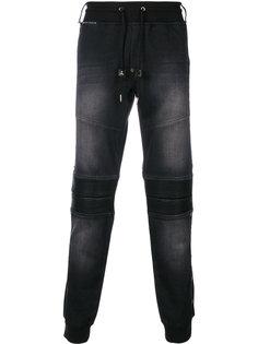 спортивные брюки с эффектом денима Philipp Plein