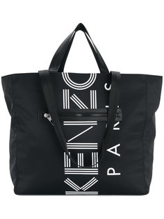 сумка-тоут с логотипом Kenzo