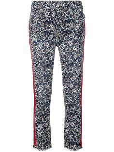 джинсы с принтом Fliff Isabel Marant Étoile