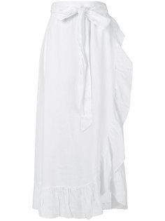 длинная юбка с рюшами Isabel Marant Étoile