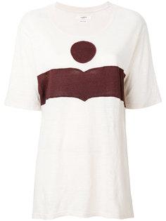 футболка дизайна колор-блок Isabel Marant Étoile