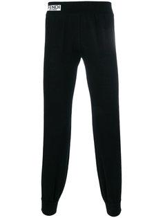 зауженные спортивные брюки Fendi