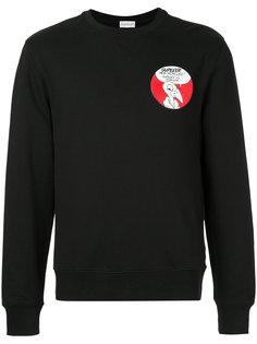 свитер с нашивкой логотипа Moncler