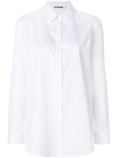 рубашка мешковатого кроя Jil Sander