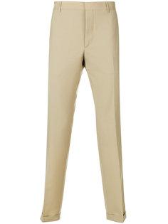 классические брюки прямого кроя Prada