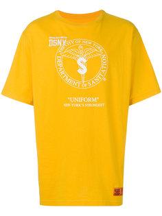 футболка Department Of Sanitation Heron Preston