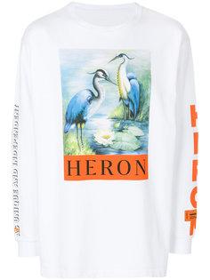 толстовка с принтом логотипа Heron Preston