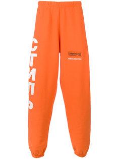 спортивные брюки с принтом логотипа Heron Preston