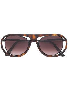 солнцезащитные очки в двойной оправе Kuboraum