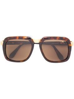 солнцезащитные очки с эффектом черепашьего панциря Cazal