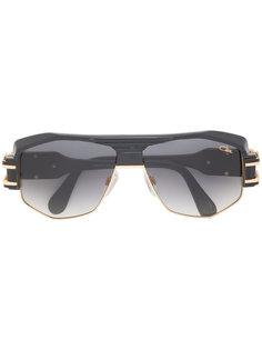 объемные солнцезащитные очки-авиаторы Cazal