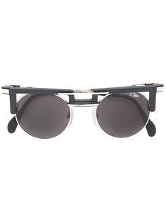 солнцезащитные очки в круглой оправе Cazal