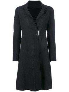 приталенное пальто с застежкой-защелкой Isaac Sellam Experience