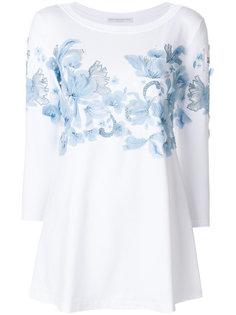 декорированная блузка  Ermanno Scervino
