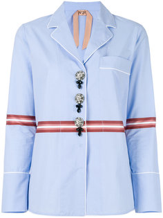 рубашка в пижамном стиле  Nº21