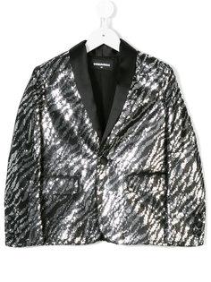 пиджак с пайетками Dsquared2 Kids