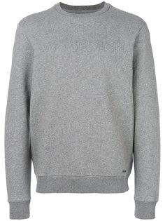 logo embroidered sweatshirt Woolrich