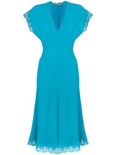 платье с кружевом Ermanno Scervino