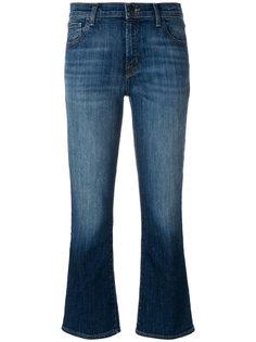расклешенные к низу джинсы с выцветшим эффектом J Brand