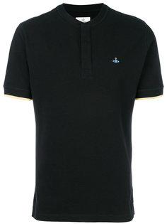 футболка-поло с вышивкой логотипа Vivienne Westwood