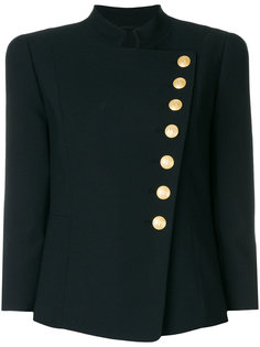 асимметричный пиджак на пуговицах  Pierre Balmain