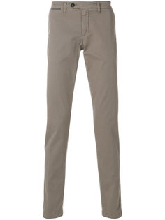 брюки узкого кроя Eleventy