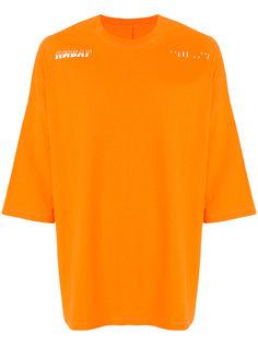 футболка мешковатого кроя Unravel Project