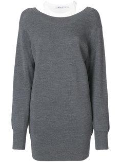 многослойный пуловер T By Alexander Wang
