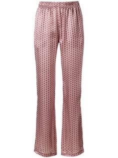расклешенные брюки с вышивкой  Faith Connexion