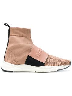 кроссовки с носочной вставкой Balmain