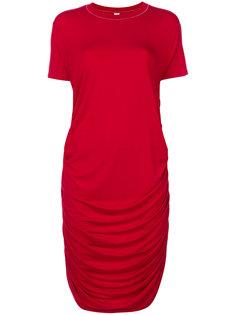 платье-футболка со сборками Carven