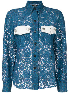 рубашка дизайна колор-блок Calvin Klein 205W39nyc